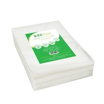 EZVac Quart 100 Vacuum Food Storage Bags-Pre-Cut Clear Storage Bags for Vacuum S