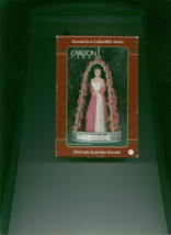 First Lady Jacqueline Kennedy Christmas Ornament Carlton Cards 2nd In A Series - $11.00