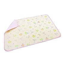 5075CM Baby Keep Me Dry Pad Newborn Crib Sheet Infant Mattress Cover Pink