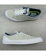 Converse Sumner OX Low White Blue Skate Shoes Mens Size 10.5 New 151429C - $49.45