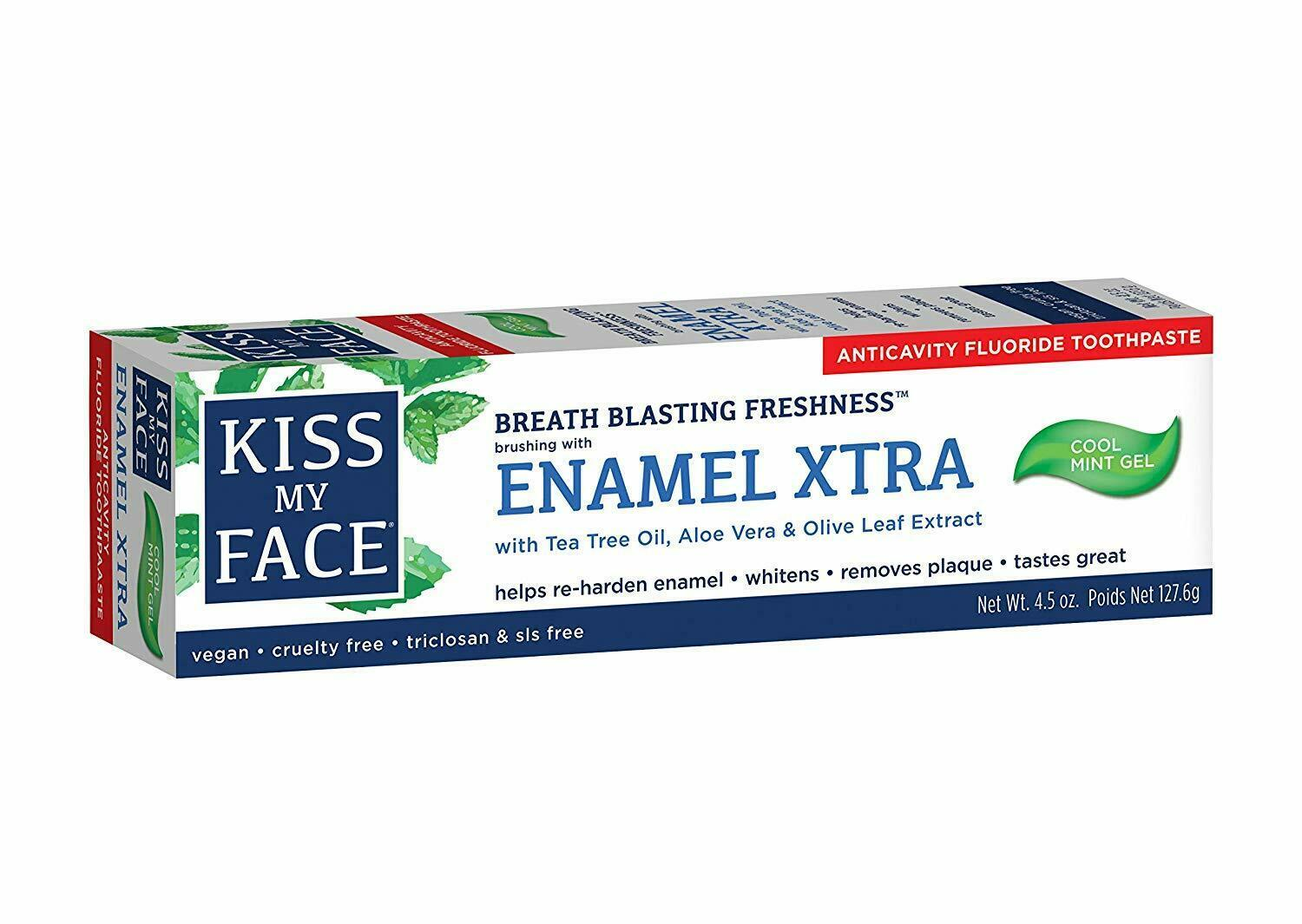 Primary image for Kiss My Face Extra Gel Toothpaste Enamel 4.5 Ounce
