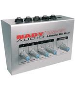 Nady 4-channel Mini Mixer NDYMM141 - $54.25