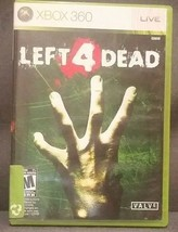 Left 4 Dead (Microsoft Xbox 360, 2008) Video Game - $9.07