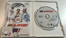 NHL Slapshot (Nintendo Wii, 2010) Complete Game image 3