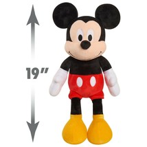 Disney Classic Mickey Mouse Plush! 19-Inch Cuddle Size W/ Soft Deluxe Fabrics - $19.99