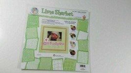 Provo Craft Color Wheel Paper Collection Scrap Pad - lime sherbet (12x12) - $6.93