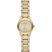 【BURBERRY】The City BU9227 Ladies Gold Tone Bracelet Watch - 26mm - Warranty - $289.00