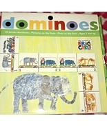 Eric Carle Dominoe 28 Jumbo Dominoes Jungle Animals - $12.00