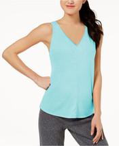 Calvin Klein Performance Womens Vent-Back Tank Top Blue XS 4649-3 - $18.50