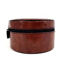 "Calvin Klein OBSESSION 5"" Round Cosmetic Mini Case TRAVEL Storage Box w/... - $19.99"