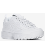 Fila Disruptor II Grade School Triple White FW02936-148 - $45.00