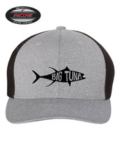 BIG TUNA FISHING FISHERMAN FLEXFIT TRUCKER CAP WITH MESH  *FREE SHIPPING... - $19.99