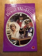 "1981 1ST EDITION ""ROYAL WEDDING"" CHARLES & DIANA LADYBIRD BOOK (50p NET) - $1.99"