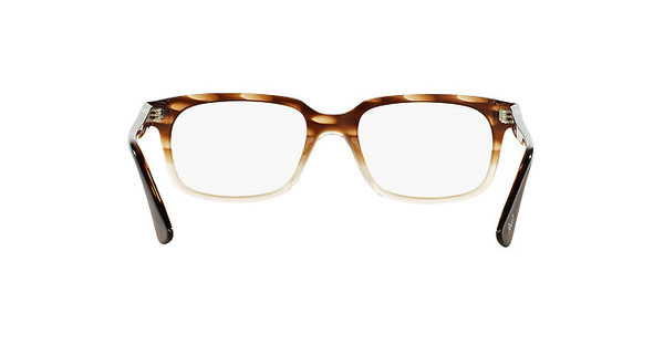 5db7edd952ebd Persol Classics Eyeglasses PO 3131V c. 1037 in Striped Brown Crystal 54mm