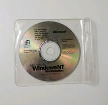 Microsoft Windows NT Workstation Ver 4.0 (1998 Microsoft) CD-ROM - $18.70