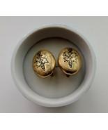 Antique Victorian Gold Filled Enamel Earrings Screw Back - $95.00