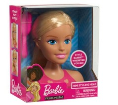 """Barbie Blonde """"Mini Styling Head"""" - Hair Brush Included! FREE SHIP! NEW ... - $16.99"""