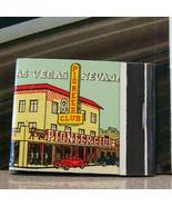 Vintage Matchbook Circa 1940 G8 Las Vegas Nevada Pioneer Club Classic Ca... - $71.99