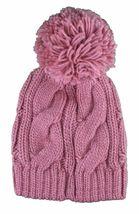 Bench Rose Lavendah Woodley Pompon Tricot Pompon Chapeau Bonnet Hiver Bonnet image 3
