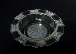 Jeannette Glass Dewdrop Butter Dish Bottom NO Cover Vintage 1950s Clear - $18.99