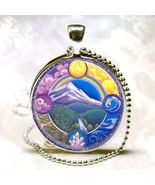 Haunted NECKLACE 27X GREAT ELEMENTS WIND AIR EARTH FIRE MAGICK 925 WITCH... - $59.77