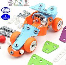 STEM Toys for Kids, 5-in-1 Building Project Set image 3