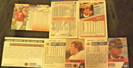 John Elway #7 Denver Broncos and Dan Reeves Trading Cards AA-19FTC3005a Vintage image 12