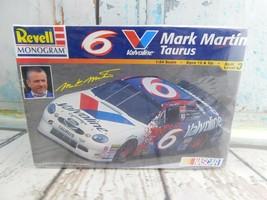 Vtg MONOGRAM #6 VALVOLINE THUNDERBIRD MARK MARTIN 1:24 Scale Model Car Kit - $12.86