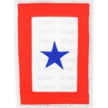 United States Family Member In Service Blue Star Patch NEW!!! - $7.91