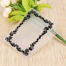 (as show)1PC Plastic Embossing Folder Template For Scrapbooking DIY Phot... - $14.00