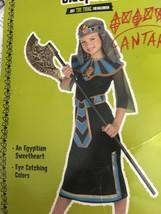 GIRLS CLEOPATRA Halloween Dress-up Costume. Size 7-10 - $8.99