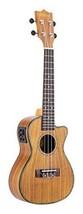 """Ammoon 24"""" Cutaway Ukulele Hawaii Gitarre mit LED EQ Koa Sperrholz Kauri... - $88.33"""
