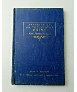 1950 Handbook of United States Coins - R.S. Yeoman Blue Book - 8th Edition - $10.00