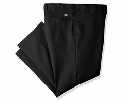 Dickies Men's 874 Big and Tall Flex Work Pant, black, 42W x 30L 874FBK NEW NWT - $24.86