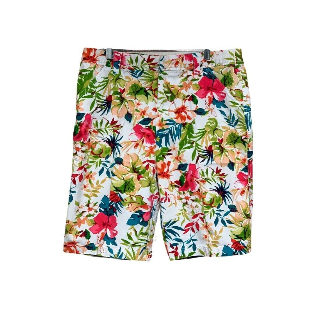 Primary image for Caribbean Joe Womens Floral Shorts Size 14