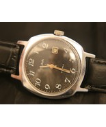 Rare vintage 1970's Soviet, Slava  21jewel manual wind wristwatch serviced! - $79.20