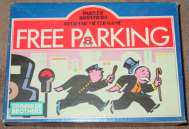 FREE PARKING GAME FEED THE METER PARKER BROTHERS 1988 COMPLETE EXCELLENT - $15.00