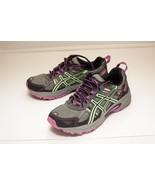 Asics Gel-Venture US 6 D Gray Purple Running Shoes Women's - $24.00