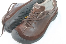 Keen Size 6.5 Brown Leather Oxford Shoes - $23.76