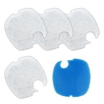 Sunsun HW-304B White Blue Pad HW-304 Canister White and Coarse Filter Pad - $8.70