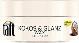 Schwarzkopf Taft Wax Styling Gel - Coconut -75ml Free Shipping - $7.91