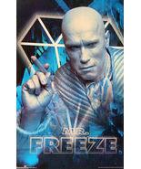 "1997 BATMAN & ROBIN Movie MR. FREEZE Original POSTER 23x34.5"" 3182 DC Co... - $29.99"