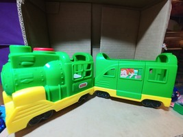 Fisher-Price Little People Friendly Passengers Train Green - $11.00