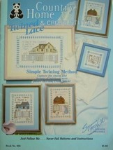 Cross Stitch Twined Lace Booklet Country Home Suzanne McNeill 026 - $7.99