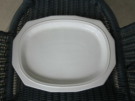 """Pfaltzgraff Heritage Large Serving Platter 12 Sided Oval Plate 14-1/4"""" x 10-3/4"""" - $26.61"""