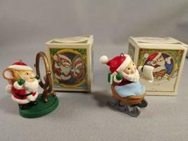 Avon Melvin P. Merrymouse Christmas Keepsake Ornaments Lof of 2 - $22.77