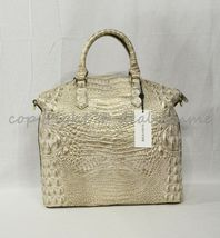Brahmin Large Duxbury Leather Satchel/Shoulder Bag Sugar Cane Melbourne image 7