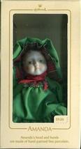1984 - New in Box - Hallmark Christmas Keepsake Ornament - Amanda - $3.95