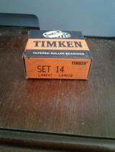 1 pcs Timken Set 14, Set14 (L44643/L44610) Cup & Cone Set new USA SHIP