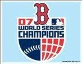 WinCraft Boston Red Sox 2007 World Series Champions Ultra Decal - $2.93